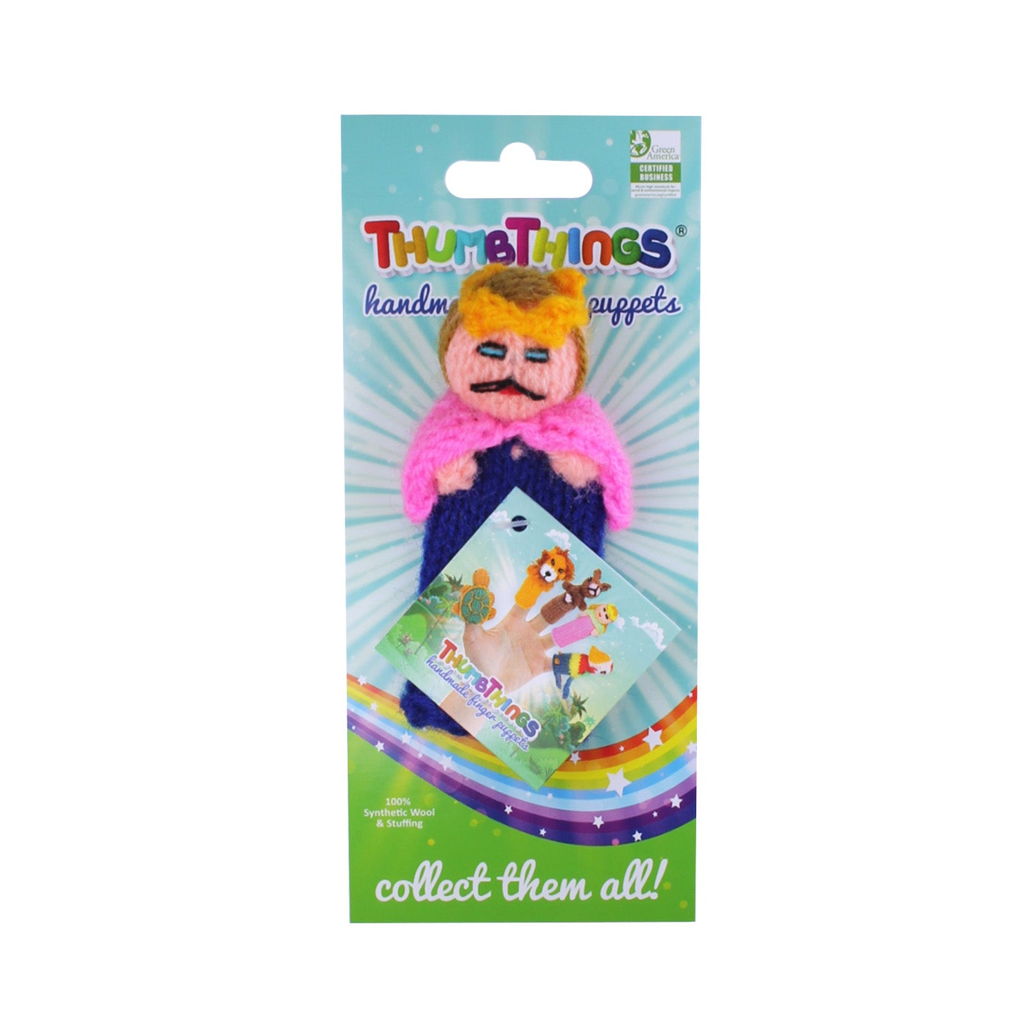 prince finger puppet by thumbthings handmade finger puppets