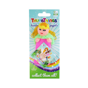princess finger puppet by thumbthings handmade finger puppets