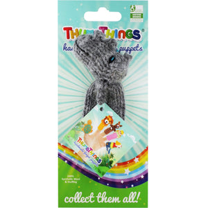 Thumbthings Rhino Finger Puppet