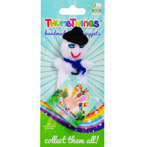 snowman finger puppet by thumbthings finger puppets