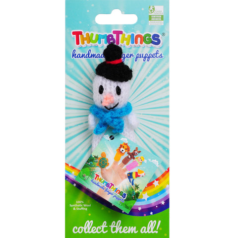 Thumbthings Frosty the Snowman Finger Puppet
