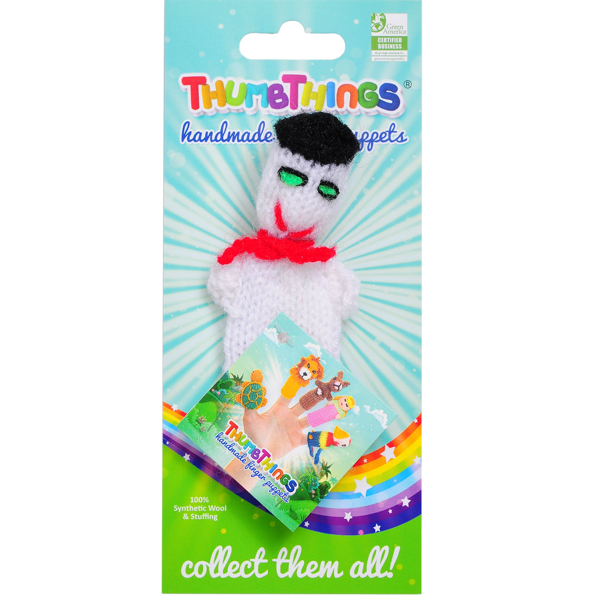 Thumbthings Snowman with a Beret Finger Puppet