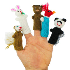 handmade finger puppets, eco friendly finger puppets