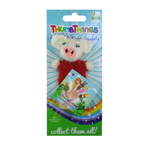three little pigs finger puppet