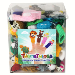 ThumbThings Finger Puppets 50pc. Family Fun Set