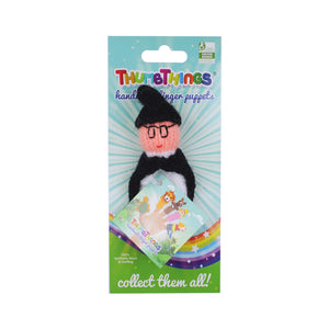 wizard junior finger puppet by thumbthings handmade finger puppets