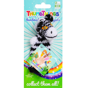zebra finger puppet by thumbthings finger puppets