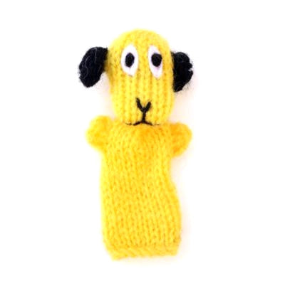 Happy Doggy Finger Puppet