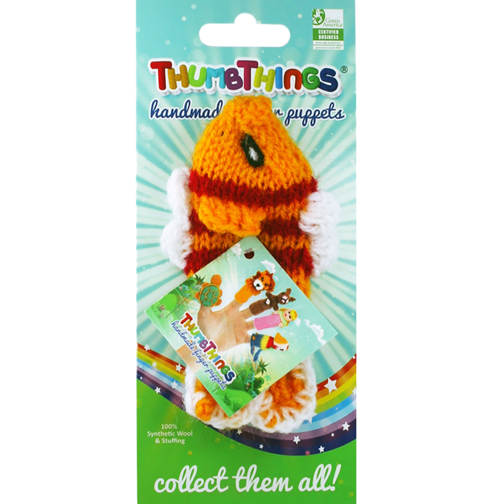 Thumbthings Tropical Fish Finger Puppet
