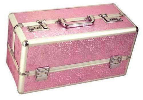 Large Lockable Vibrator Case Pink BMS098-16