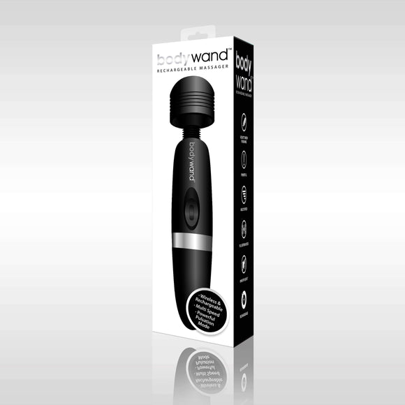 Bodywand Rechargeable Massager - Black X-BW109