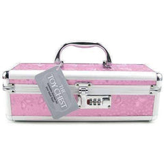 Vibrator Case Lockable - Pink BMS099-16