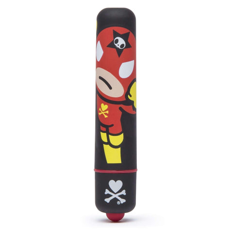 Tokidoki Single Speed Mini Bullet Vibrator Justice - Black LHR-64532