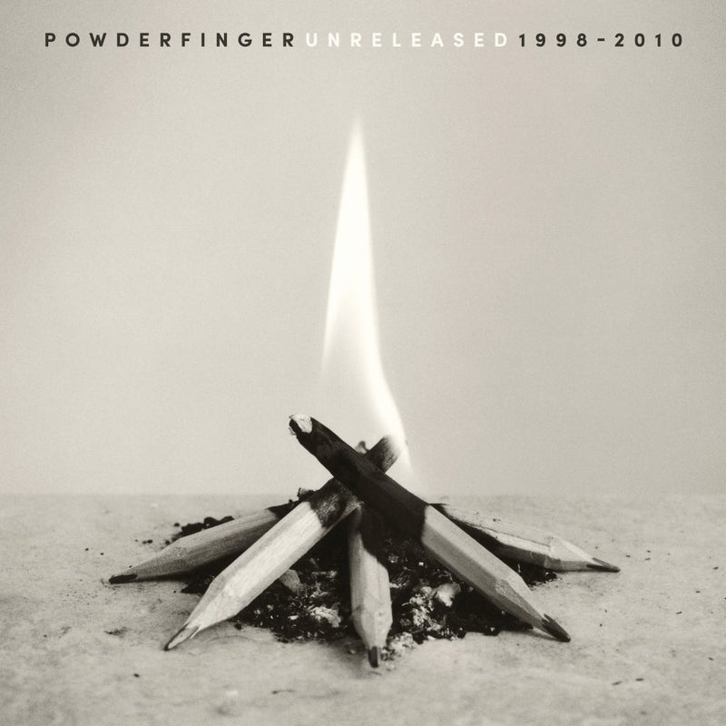POWDERFINGER - Unreleased 1998 – 2010 - WHITE Vinyl LP Record