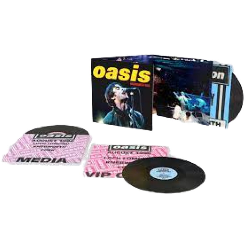 [PRE ORDER] CAAMP - Live From Newport Music Hall + Officer Of Love Bundle - Vinyl LP Record