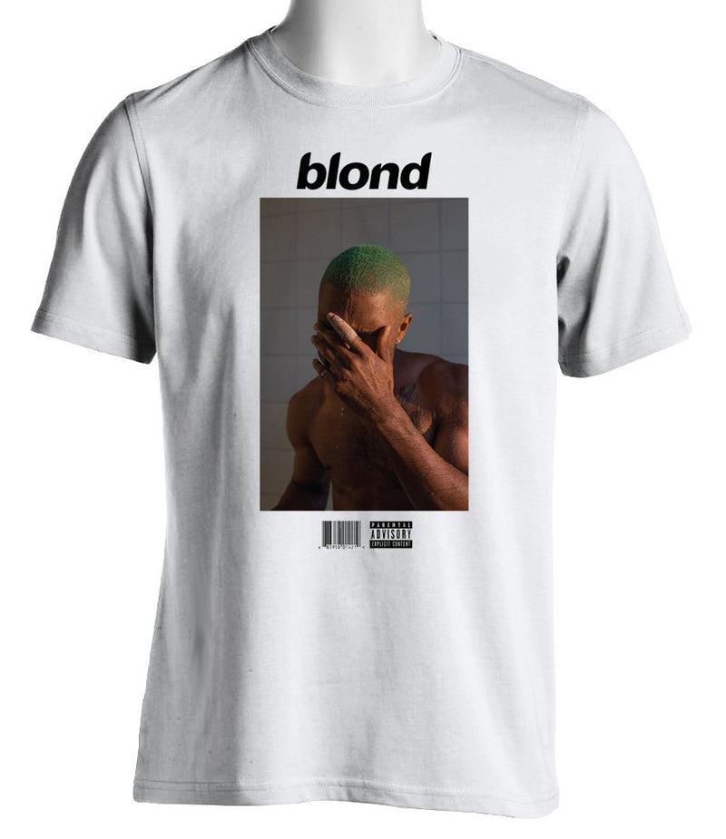 FRANK OCEAN - Blond - MENS T-Shirt - WHITE