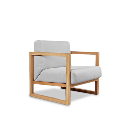 Fauteuil Chêne Brut CUBE RAW