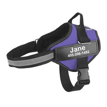 Load image into Gallery viewer, No-Pull Custom Dog Harness Innovation Dog XS Purple