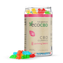 Eco CBD - Full Spectrum CBD Gummy Bears - 2000mg
