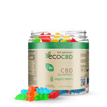 Eco CBD - Full Spectrum CBD Vegan Gummy Bears - 500mg
