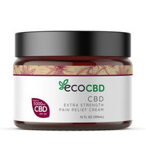 Eco CBD - CBD Extra Strength - Pain Relief Cream - 5000mg