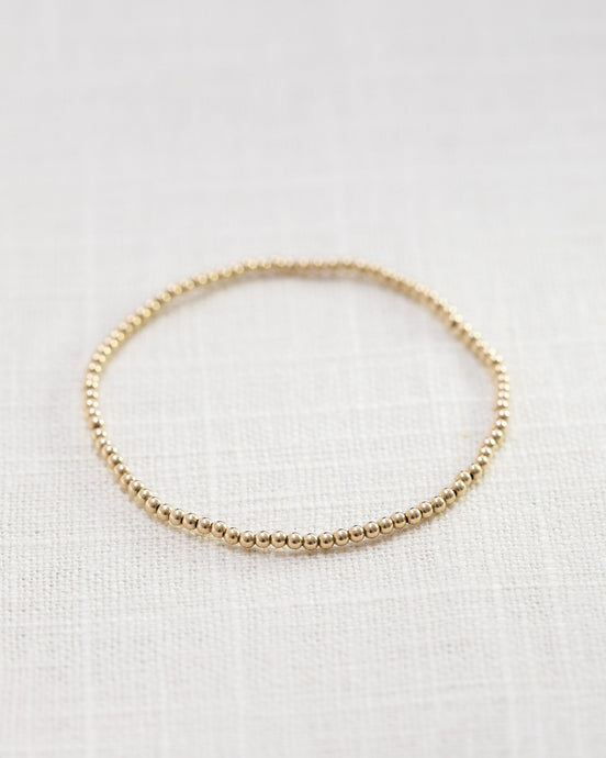 Gold Filled Ball Bracelet