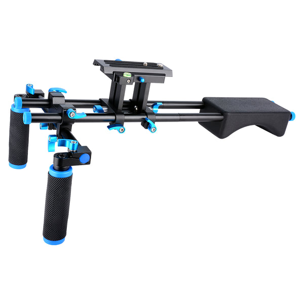Yelangu D2 Shoulder Mount Bracket DSLR Shoulder Rig for Digital Camera