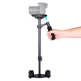 YELANGU S60T DSLR Carbon Fiber Handheld Camera Stabilizer DSLR Cameras Weight 1-3kgs/2.2-6.6lbs