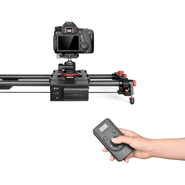 YELANGU L80RC Professional Motozied Video Camera Slider Carbon Fiber Track Rail with Time Lapse Wireless Control