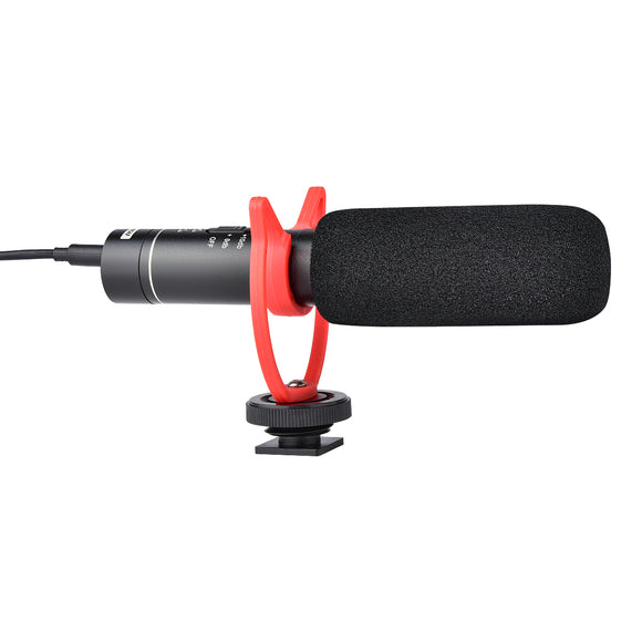 Yelangu Mic05 Aluminum alloy Condenser Dslr Video Microphone For Camera Mobile Vlogging