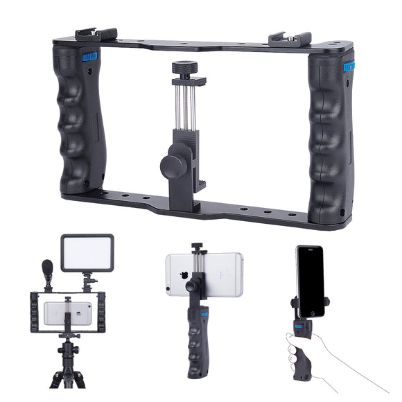 YELANGU PC01 Aluminum Smartphone Video Rig Vlogging for Mobile Phone Videographer