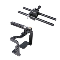 Yelangu C7 GH4/5 Cage Kit for Panasonic Lumix withTop Handgrip,  Cage and Dual Rod Baseplate System