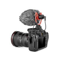 Yelangu Mic 10 Video Microphone with Shock Mount, Windscreen, Case for Smartphones and camera