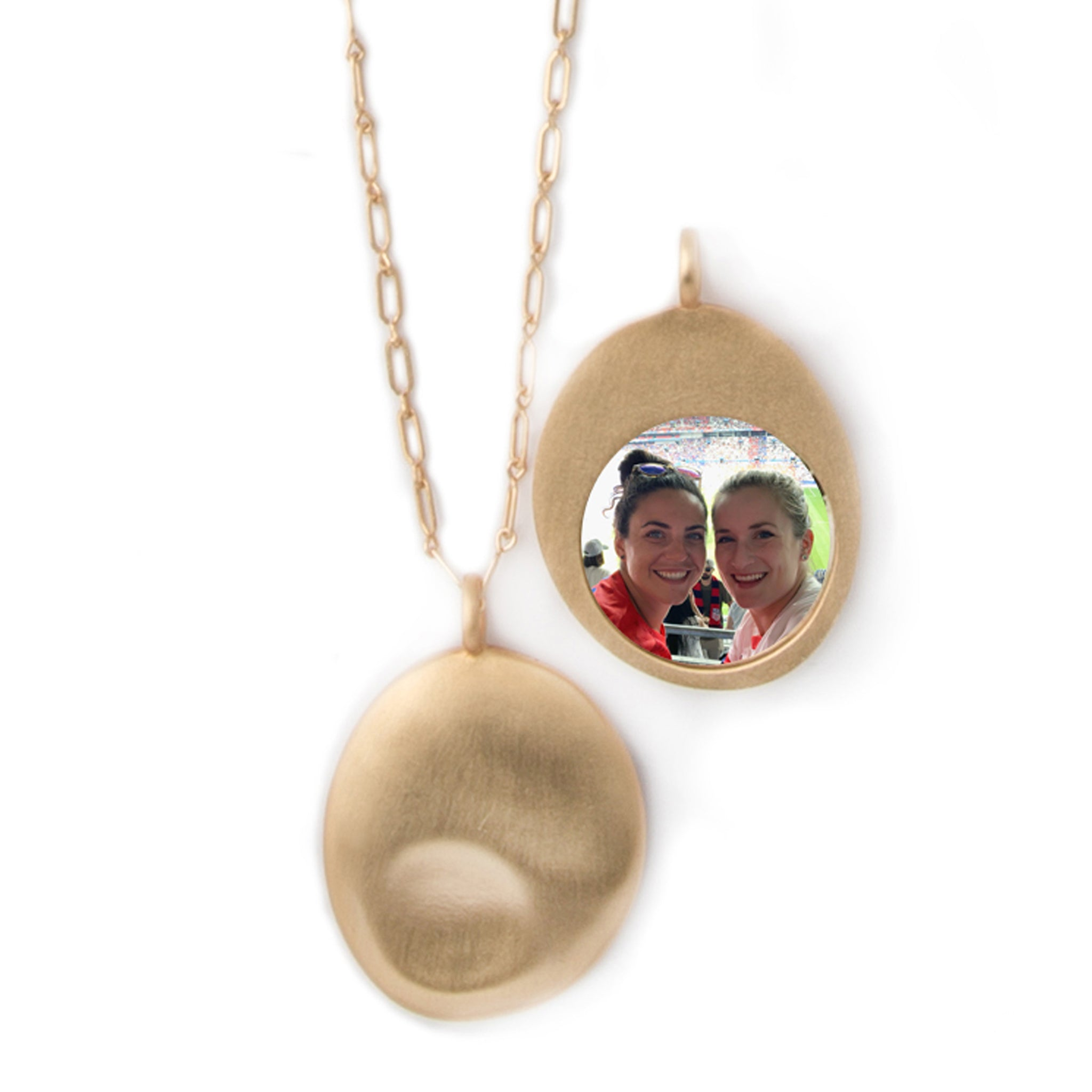 Custom personalized photo pendant