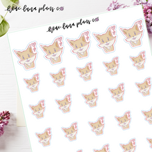 Load image into Gallery viewer, Cute Hearts | Luna Character Sticker