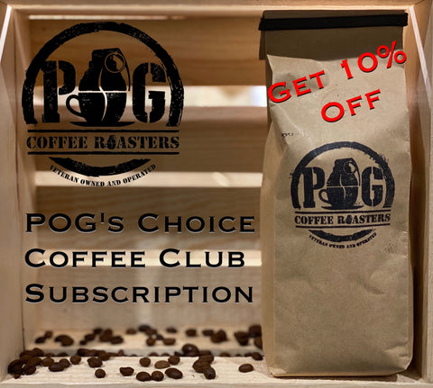 POG's Choice Coffee Club Subscription