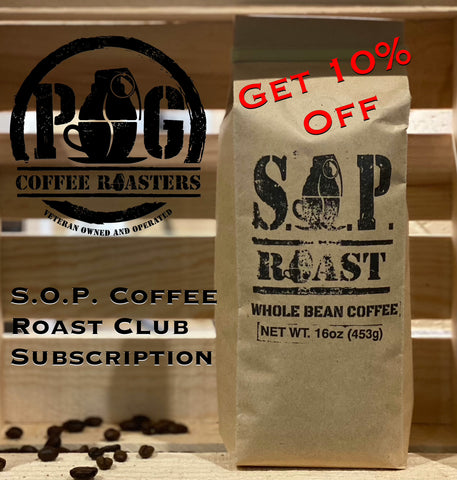 S.O.P. Roast Coffee Club
