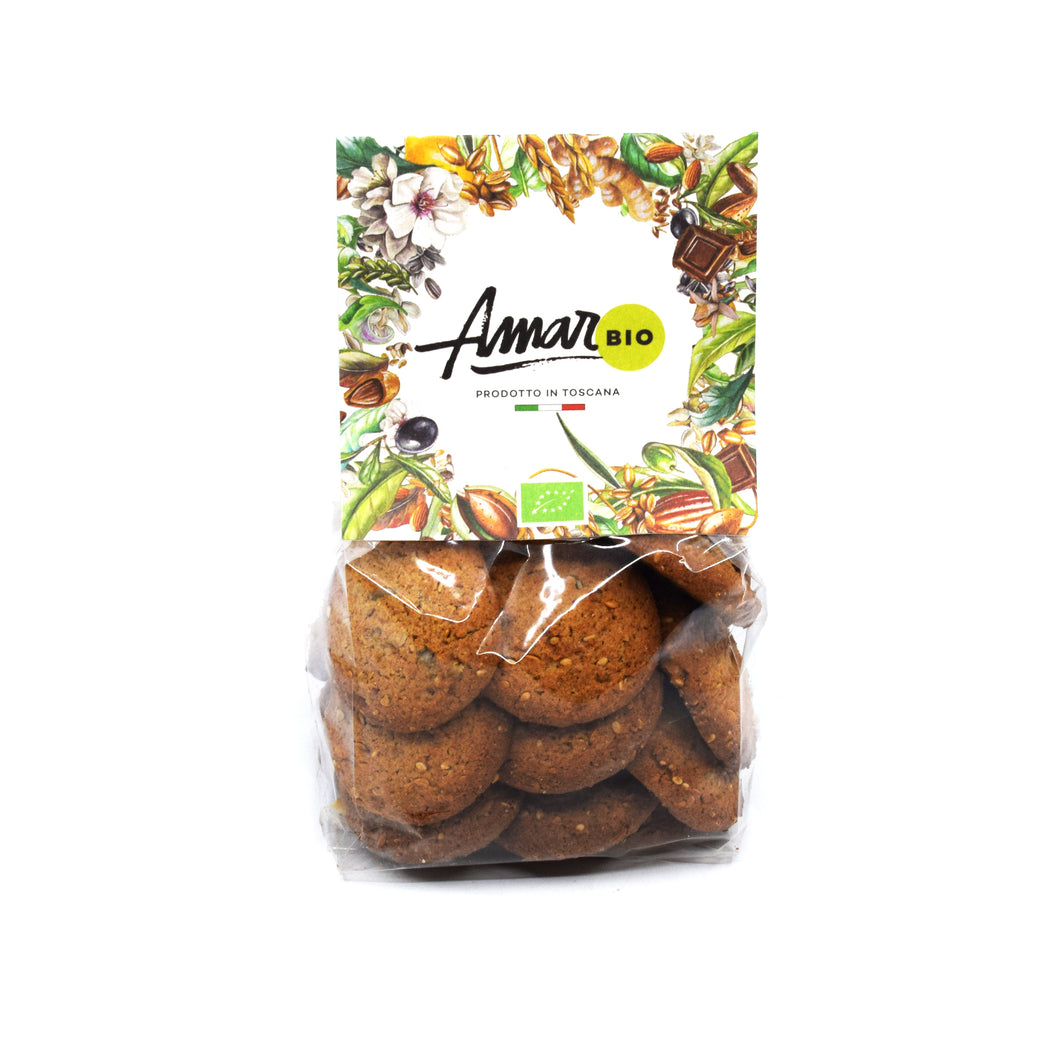 Amari - Whole Wheat and Mixed Seeds Cookies 180g