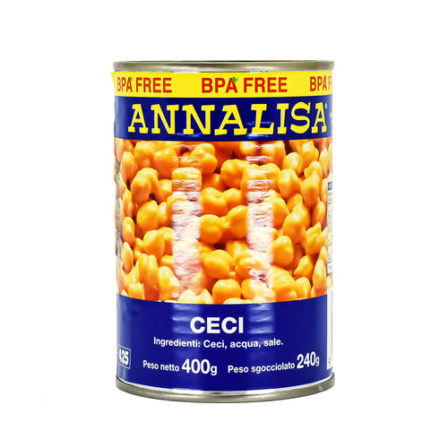 Annalisa - Chickpeas / Ceci 400g - Bel & Brio Shop Online | Supermarket , Bottle Shop , Restaurant Deliveries