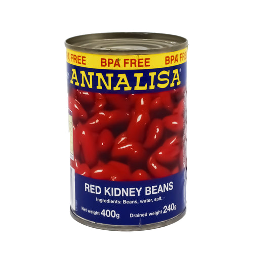 Annalisa - Red Kidney Beans 400g - Bel & Brio Shop Online | Supermarket , Bottle Shop , Restaurant Deliveries