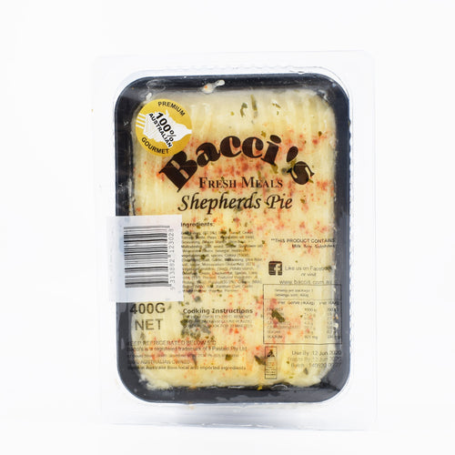 Bacci's Fresh Shepherds Pie 400g