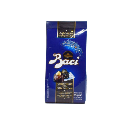 Baci - Extra Dark 70% Chocolate with Hazelnuts 125g
