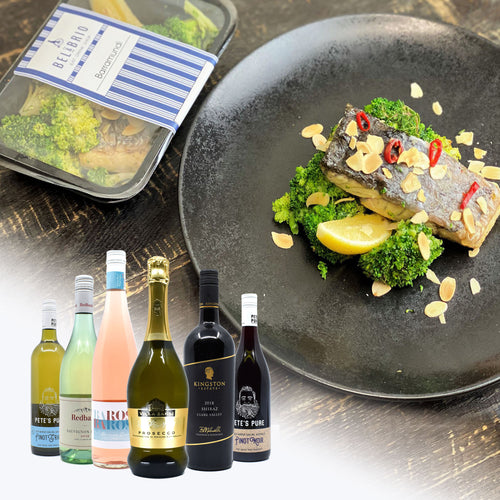 2 Barramundi + Bottle Of wine