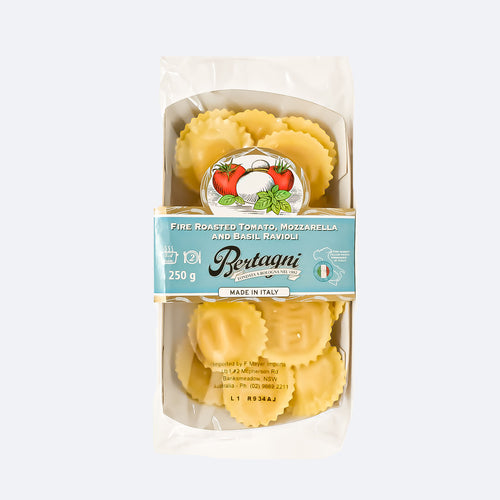 Bertagni - Fine Roasted Tomato, Mozzarella And Basil Ravioli 250g - Bel & Brio Shop Online | Supermarket , Bottle Shop , Restaurant Deliveries