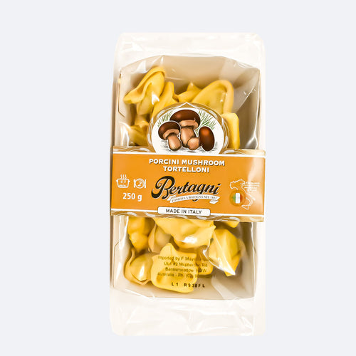 Bertagni - Porcini Mushroom Tortelloni 250g - Bel & Brio Shop Online | Supermarket , Bottle Shop , Restaurant Deliveries