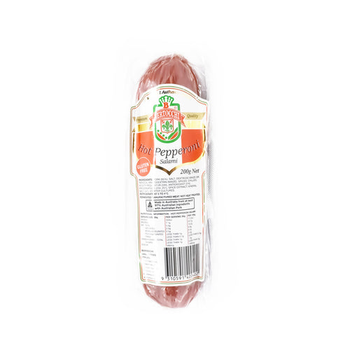 Bertocchi - Hot Pepperoni 200g - Bel & Brio Shop Online | Supermarket , Bottle Shop , Restaurant Deliveries