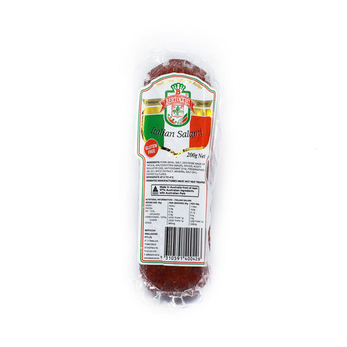 Bertocchi - Italian Salami 200g - Bel & Brio Shop Online | Supermarket , Bottle Shop , Restaurant Deliveries