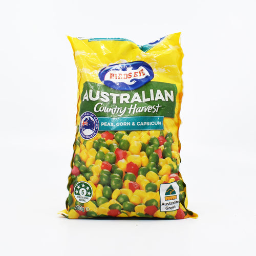 Birds Eye - Country Harvest Peas, Corn & Capsicum 500g - Bel & Brio Shop Online | Supermarket , Bottle Shop , Restaurant Deliveries