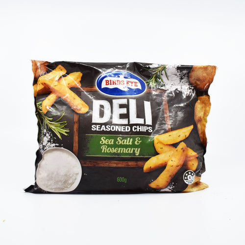 Birds Eye - Deli Seasoned Chips Sea Salt & Rosemary 600g - Bel & Brio Shop Online | Supermarket , Bottle Shop , Restaurant Deliveries