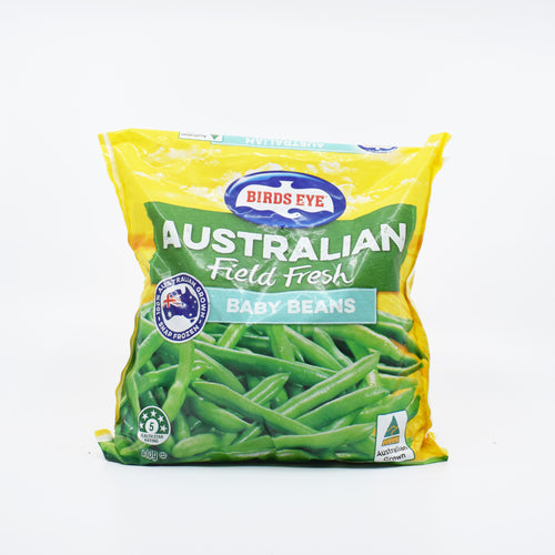 Birds Eye - Field Fresh Baby Beans 500g - Bel & Brio Shop Online | Supermarket , Bottle Shop , Restaurant Deliveries